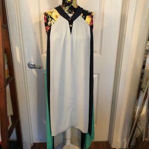BCBG Maxazria asymmetric dress